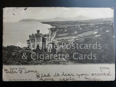 Ireland: Dublin, Killiney, Victoria Castle c1903 UB - by The Wrench Series 1704
