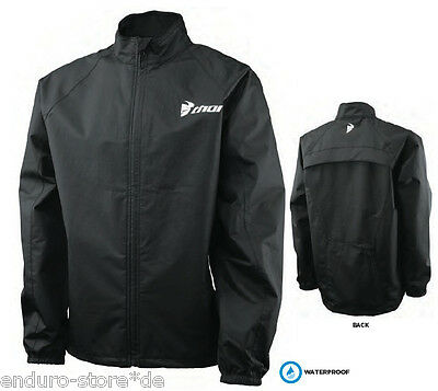 THOR PACK Motocross Jacke  black Gr. XL