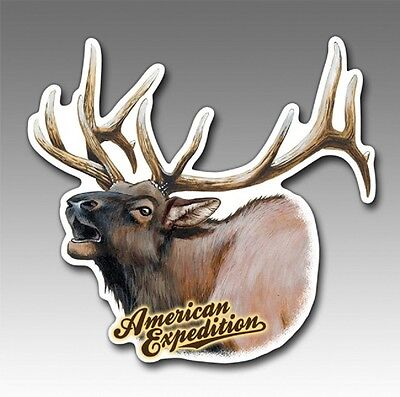 Wildlife Auto/Car/Truck MAGNET--ELK--by American Expedition-Made in USA
