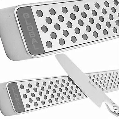 Global Stainless Steel Block Magnetic Knife Wall Storage Holder Rack