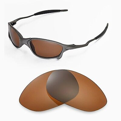 New Walleva Polarized Brown Replacement Lenses For Oakley X Metal XX Sunglasses