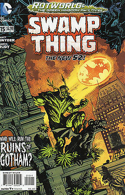 Swamp Thing #15 (NM) `13 Snyder/ Rudy