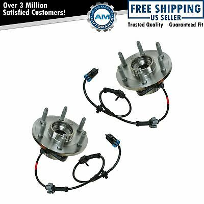 TIMKEN 4x4 4WD Front Hub & Bearing Pair Set For Chevy Pickup Truck Tahoe