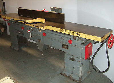"Heavy Duty Oliver Model 166 -BD 12"" Wood Jointer Planer 5 HP Motor Made in USA"