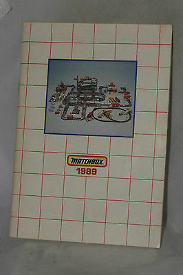 Matchbox 1989 Collector's Catalog, USA Edition, Nice, Complete & Original