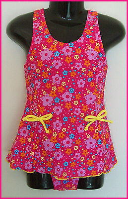 PINK GIRLS BEACH DRESS  Sz  4 6 8 10 12 - Gorgeous Pink GIRLS TOGS Swimwear NEW