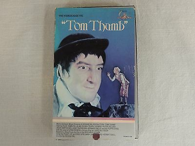 Tom Thumb VHS Tape MGM/UA Home Video Russ Tamblyn Peter Sellers Alan Young 1984