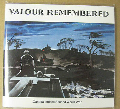 Canada And The Second World War Paperback Book Valour Remembered Vf