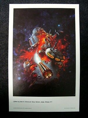 KELLY FREAS CLASSICS OF SCI FI PRINT SPACESHIP FOR KING