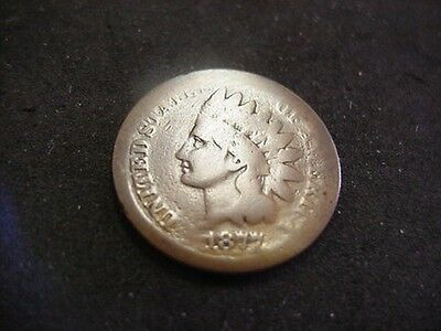 1877 Indian Head Cent Penny Key Date Good G Rare Date Take A Look