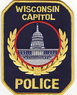 WI Wisconsin Capitol Police Patch *New*