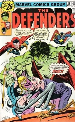 Comics -Marvel -The Defenders-35-May 1976