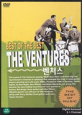 The Ventures DVD - Best of the Best (New & Sealed)