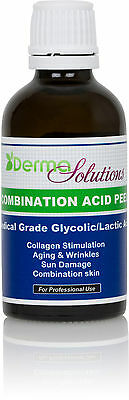 NEW! Glycolic Lactic /Combination Acid Chemical Peel Kit  MD Grade & 100% Pure!