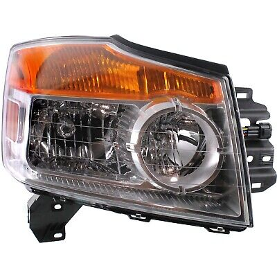 Headlight For 2008-2012 2013 2014 2015 Nissan Armada Right With Bulb