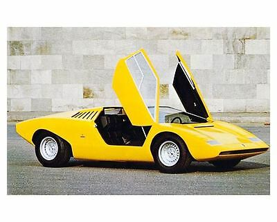1972 Lamborghini LP500 Countach Factory Photo ua5392-2Z1BD2