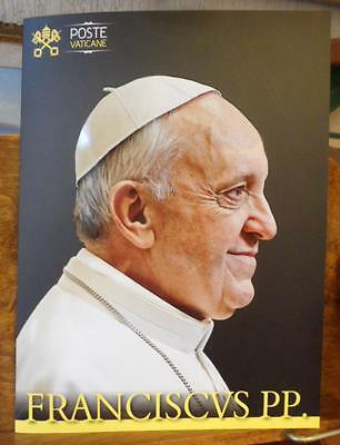 Vatican Folder beginning Pontificate Pope Francis 4 envelopes FDC 2013