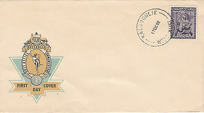 Stamp Australia 1962 Christmas issue on Hermes FDC from KALGOORLIE, unaddressed