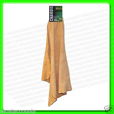 Large Real Chamois Leather [SR350] Best Quality Genuine Leather