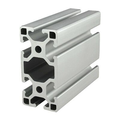80/20 Inc TSlot 40mm x 80mm Aluminum Extrusion 40 Series 40-4080-Lite x 1525mm N