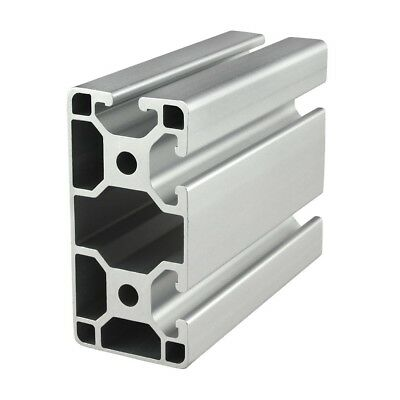 80//20 Inc 40mm x 40mm T-Slot Aluminum 40 Series 40-4040-Lite-Black x 305mm N