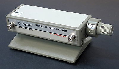 HP 8495A/002 Step Attenuator  -  0 to 70 dB, DC to 4 GHz
