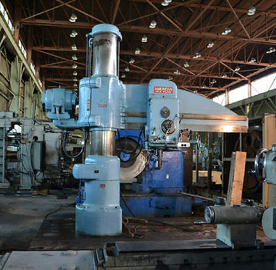 "7'17"" American ""holewizard"" Radial Drill - #26676"