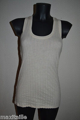 Top Tunique  Dnky Jeans Taille  M / T-Shirt Donna Karan Tank Size