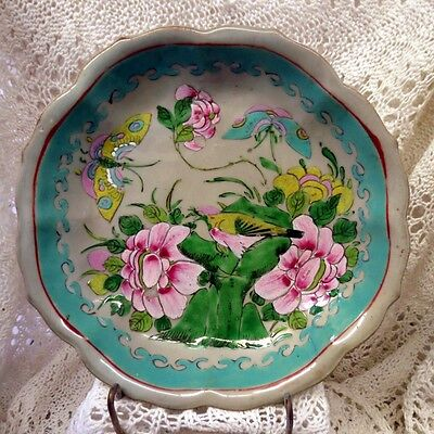 Chinese Gorgeous Late 18Th Century Floral Bowl