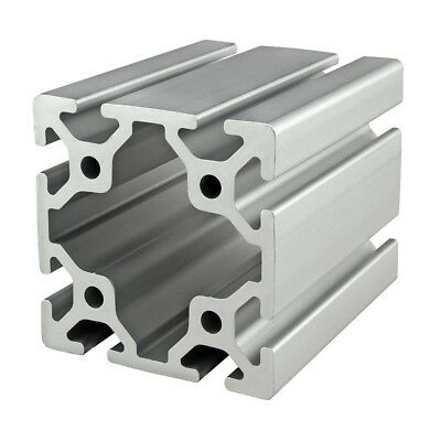 8020 Inc T Slot 80mm x 80mm Aluminum Extrusion 40 Series 40-8080 x 2440mm N