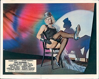 The Damned Helmut Berger In Drag Classic Lucino Visconti Original Lobby Card
