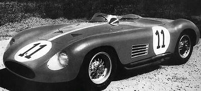 1956 Maserati 300S Race Car Factory Photo ua4084-U1AU9Q