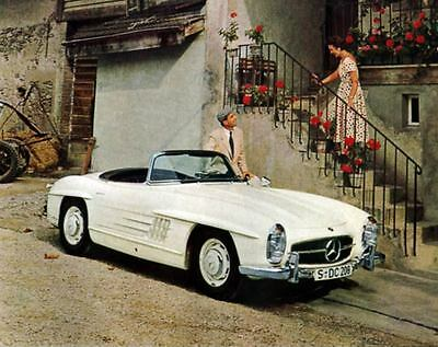 1958 Mercedes Benz 300SL Roadster Factory Photo ua4129-R2YKY3