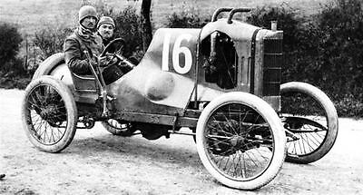 1910 Peugeot 2.8 Liter Race Car Factory Photo ua4351-RPSMWH