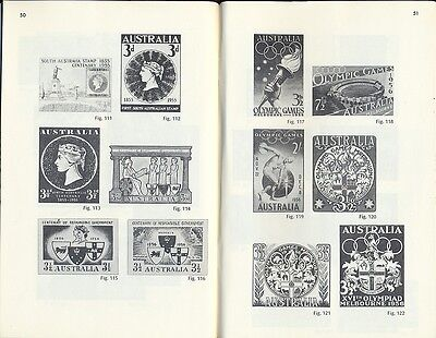 Stamps Australia Post Office commemorative issues 1952-1959 reign of QE2 booklet
