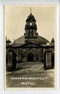 (Lk115-370) Real Photo of  Devonshire Hospital, BUXTON  Used c1930  VG+