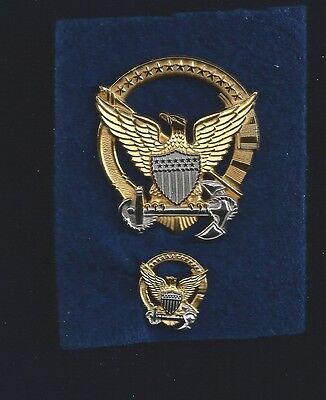 United States Coast Guard Command Afloat Officer Insignias