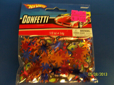 Hot Wheels Race Car Racing Toy Kids Birthday Party Decoration Printed Confetti