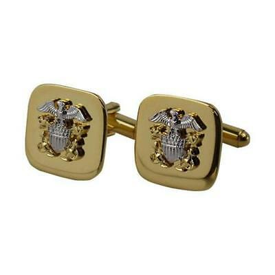 Usn Navy Cuff Links Gold Officer   New