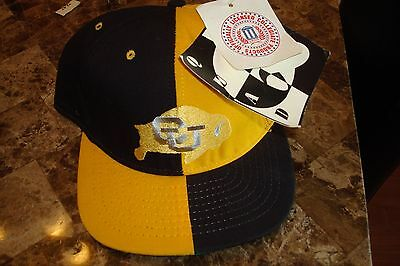 COLORADO BUFFALOES   cap hat 1990's VINTAGE FITTED SZ 7 1/4 AMERICAN NEEDLE