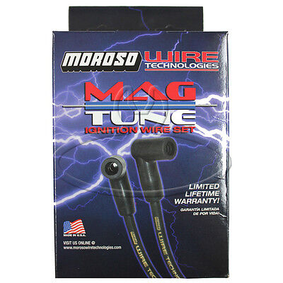 MADE IN USA Moroso Mag-Tune Spark Plug Wires Custom Fit Ignition Wire Set 9061M
