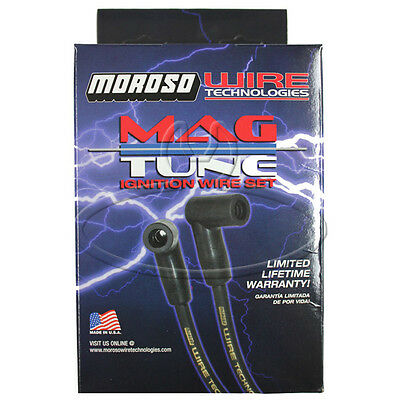 MADE IN USA Moroso Mag-Tune Spark Plug Wires Custom Fit Ignition Wire Set 9206M
