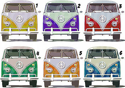 Lower Price with Vw Van Combi Camper Sticker Autocollant Ou Transfert Textile Vetement T-shirt Vêtements Garçons (2-16 Ans)