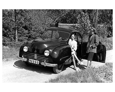 1947 Saab 92 Passenger Car Factory Photo ub0172-YE3SLF