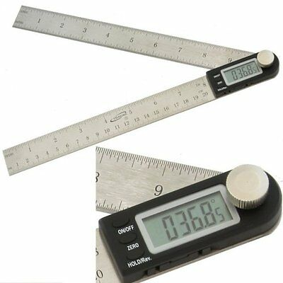 "iGaging 11"" Electronic Protractor Digital Goniometer Angle Finder Miter Gauge"