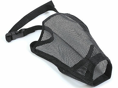 ANCOL  MESH DOG PUPPY MUZZLE, sizes 0, 1, 2, 3, 4, 4XL, 5, 5XL