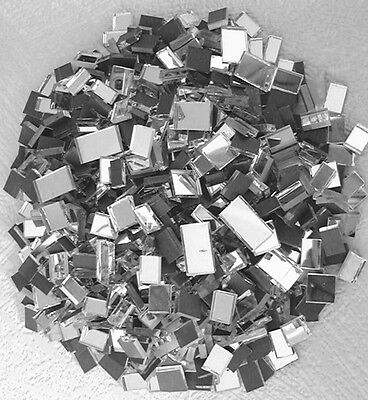 YK * 500grms MOSAIC  MIRROR  GLASS  PIECES  *  TESSERAE 3mm Thick