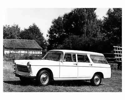 1972 Peugeot 404 Station Wagon Factory Photo ub1779-YB185I