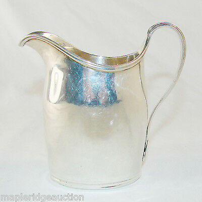 Antique 1797 George III Sterling Silver Cream/Milk Pitcher, London, Helmet Shape