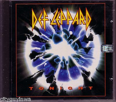 DEF LEPPARD Tonight/She's Too Tough/Pour Some Sugar on Me (Live) 1993 Oop CD